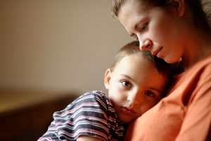 woman supporting child   Shaffer Family Law
