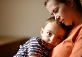 woman supporting child | Shaffer Family Law